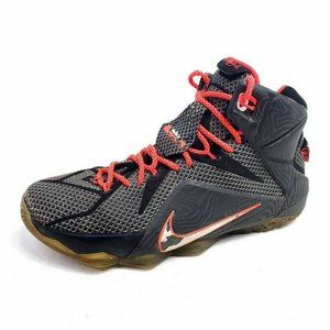 Nike Mens 9 Lebron Xii Basketball Shoes Red